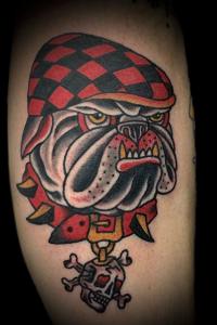 Andy Timmins, Bulldog Tattoo