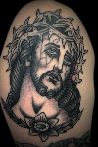 Andy Timmins, Jesus Tattoo
