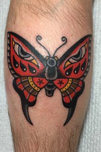 trad butterfly by Andy