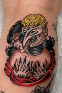 Luc Ace, Tattoo